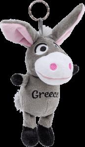 knuffel ezel roze