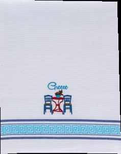 theedoek tafel stoeltje